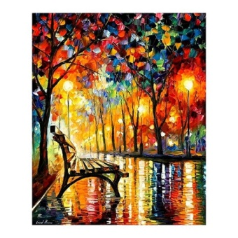 Hot Sale 5D DIY Diamond Embroidery Landscape Full Diamond PaintingCross Stitch Kit Craft Round Rhinestone Diamond Mosaic - intl