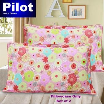 Hot Sale Pilot Bedding Pure Thick Cotton Fashion Print /ZipperDeluxe Hotel Home Resort Envelope Style Pillowcase Best Gift ( LoveGarden)