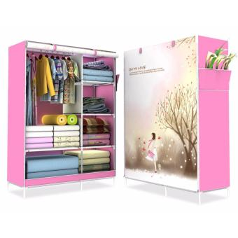 HS-6651 High Quality Cute 3D Design Wardrobe (OH MY LOVE)