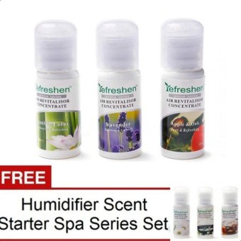 Humidifier Scent Starter Kits Aroma Series Set (Arbitrarily) withFREE Humidifier Scent Starter Kits Spa Series Set(Arbitrarily)