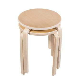 Ikea Frosta Stackable Stool Set of 2