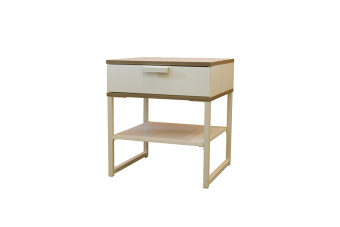 Ikea Trysil Bed side Table ( White-Light Gray) Price Philippines