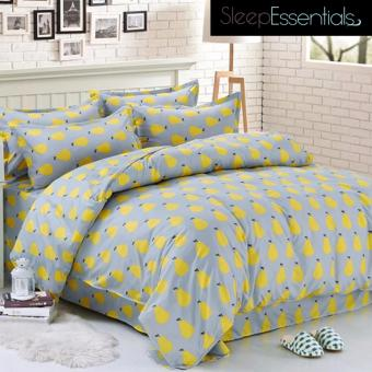 "Sleep Essentials Foetida Fire Roaster Collection 3 Piece Bedding Set (Fits 3"" to 6"" Bed Cushion) Price Philippines"
