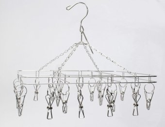 20 clips Stainless steel carousel hangers Price Philippines