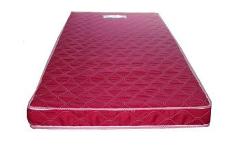 Harga Primetex Foam Mattress with Quilted Cover (Red)