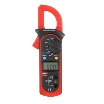UNI-T UT202A Data Hold Clamp Meter 600A DC/AC Voltage AC Current Tongs Resistance Digital Clamp Meters W/ MAX & MIN Mode - intl Price Philippines