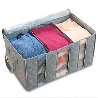 Harga Bamboo Charcoal Storage Bag Clothing Organizer