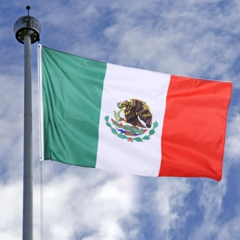 New 3 x 5 Ft National Mexico Flag Indoor Outdoor Polyester Banner Grommets - intl Price Philippines