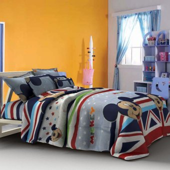 Harga Linen Essentials Mousey Bedding 3-piece Set