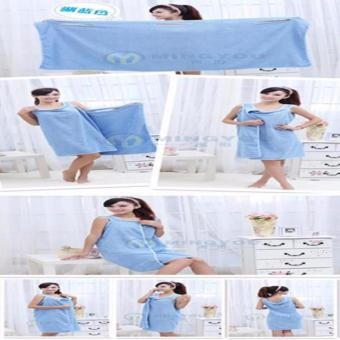 Harga QF Magic Towels Fast Drying Beach Bath Towels Bathrobes For Women