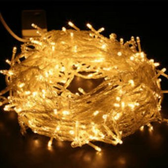 Harga Mabuhay Star 50 LED Chrismas Lights (Yellow)