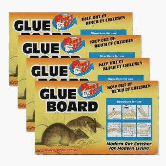 Pest Off! 2-piece Wood Glue Board (Set of 4) Price Philippines