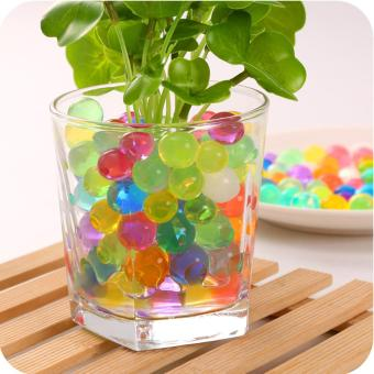 7000Pcs Water Plant Flower Jelly Beads Crystal Soil Mud Water Pearls Gel Balls - intl Price Philippines