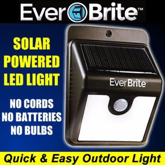 EverBrite Motion Activated Solar Powered LED Light Price Philippines