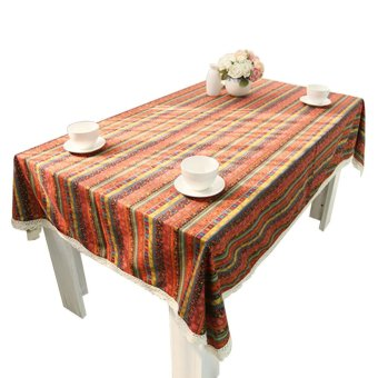Harga Rondaful 1x A:48*38 Bohemia Coffee table cloth tablecloth- Intl