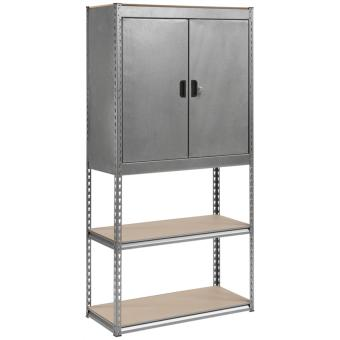 Harga Justic Rack with Half Cabinet and Lock