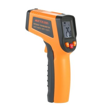 Meterk -50~400�C 12:1 Portable LCD Non-contact IR Infrared Thermometer Temperature Measurement Pyrometer with Backlight - intl Price Philippines