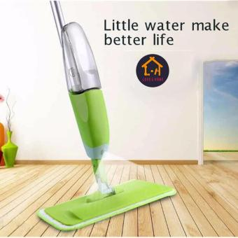 Harga LOVE&HOME New Water Home Spray Mop (Green)
