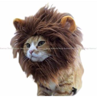 Harga Pet Cat Lion Hair Mane Head Cap Costume