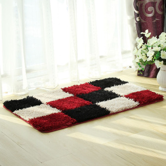 Living Room Bedroom Private Bathroom Mat Carpet (Red-28-0.7) Price Philippines