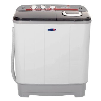Harga Fujidenzo 6.0 Kg Eco-Soak Wash Cycle Twin Tub JWT-601 (White)