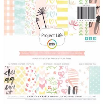 American Crafts 6x6 Paper Pad - Inspire Edition Price Philippines