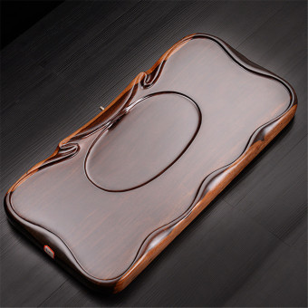 Chinese Kung Fu Tea Tray (Black) - intl Price Philippines