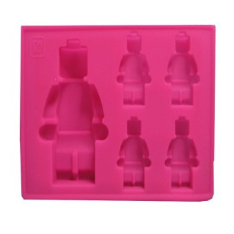 Harga Lego Silicon Mould (Pink)