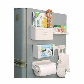 5 in1 Bathroom Magnetic Tissue Paper Roll Holder Organizer Price Philippines