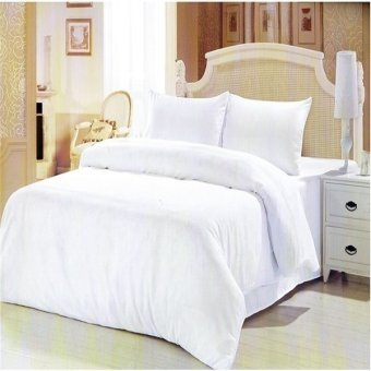 Harga Beverly's Linen Collection Bedsheet (White)