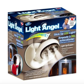 Harga Light Angel Motion Activated Cordless LED Night Sensor Light (White)