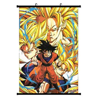 Japanese Anime Dragon Ball Poster Wall Scroll Poster Children's Rooms Wall Sticker Home Decoration - intl Price Philippines