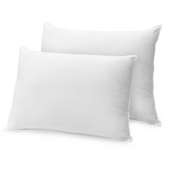 Harga Queen Double Plush Pillow, (White)