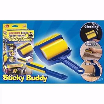 Harga Sticky Buddy Hair Lint Dust Remover With Built-In Fingers