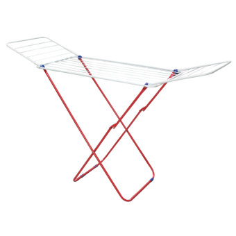 Harga Clothes Hanger X type (White/Red)