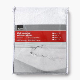 Hosh Fitted Waterproof Queen-size Mattress Protector Price Philippines