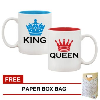 Couple Mugs King & Queen Gift Set Price Philippines