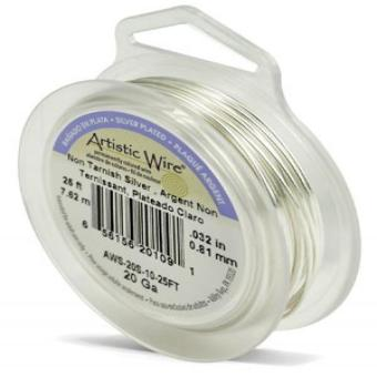 Artistic Wire 20-Gauge Tarnish Resistant Silver Coil Wire; 25-Feet Price Philippines