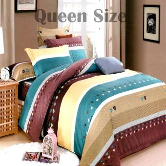 Harga Queen Classic Linen Collection Bedsheet Set of 3(AOIE-054)Queen