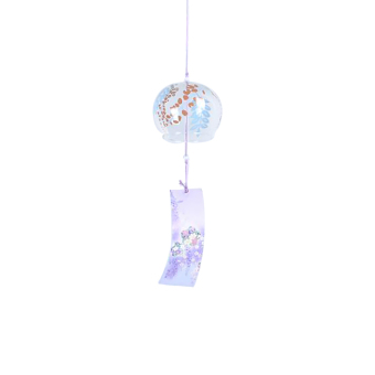 BolehDeals Japenese Culture Glass Bell Hanging Wind Chime Decor Home Garden DIY Gift #3 - intl Price Philippines