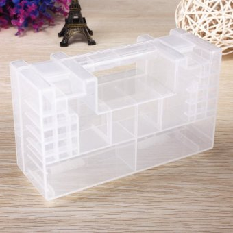Clear Plastic Healthy Case Storage Box Holder Container for AA AAA C Battery Price Philippines