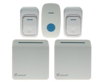 Harga Newstar NWB-S3709/W Wireless Digital Doorbell