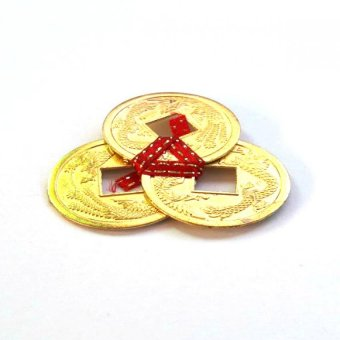 Harga Be Lucky Charms Feng Shui Wealth Catcher Gold I-Ching Coins