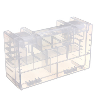 Large Translucent Hard Plastic Case Holder Storage Box for AA AAA C battery - Intl Price Philippines