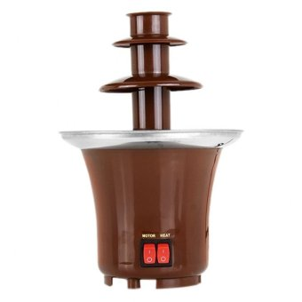 Harga Mini Chocolate Fountain MCF00001(Brown)