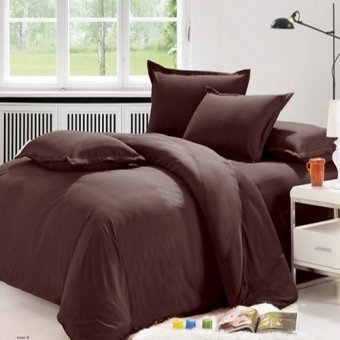 Harga Beverly's Linen Plain Comforters Set of 4