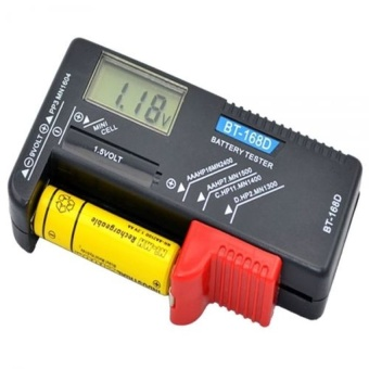 AA/AAA/C/D/9V Battery Volt Tester Button Cell Checker Digital LCDDisplay - NEW - intl Price Philippines