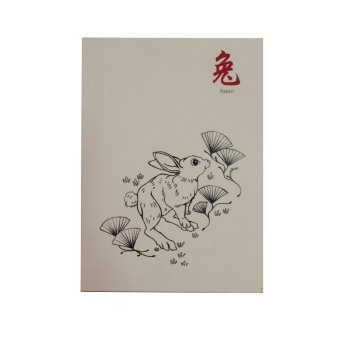 Harga CGK Creatives Rabbit Chinese Animal Zodiacs Notebook