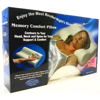 Harga Magic Memory Pillow (White)