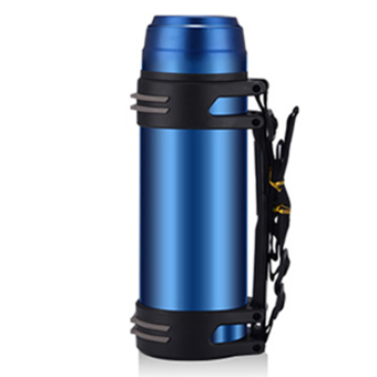 2000ml Large Capacity 304 Stainless Steel Vacuum Flask Water Bottle Thermos Mug Travel Mug - Blue Price Philippines